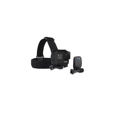 Soporte de cabeza gopro strap mount + quick clip - Imagen 1