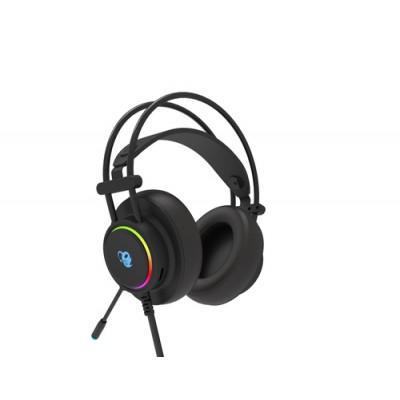 CoolBox DeepLighting Auriculares Diadema Negro - Imagen 1