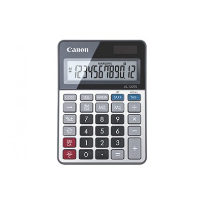 Canon LS-122TS calculadora Escritorio Pantalla de calculadora Gris - Imagen 1