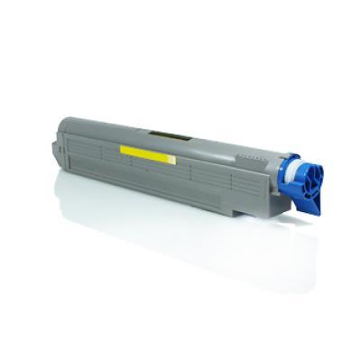 OKI C9600/C9650/C9800/C9850 Amarillo Cartucho de Toner Generico - Reemplaza 42918913 - Imagen 1