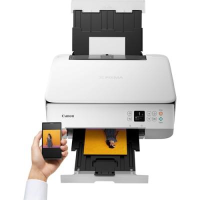 Canon PIXMA TS5351 - Weiss Inyección de tinta 4800 x 1200 DPI A4 Wifi - Imagen 3