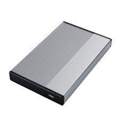 """3Go Carcasa Externa HDD 2.5"""" SATA USB-C - Color Gris - Imagen 1"""