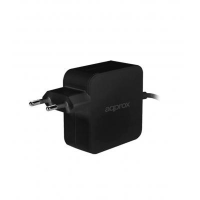 Approx Cargador de Portatil Universal USB-C 45W Negro - Imagen 1