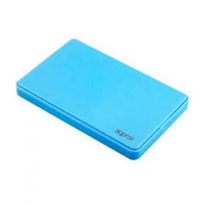 """Approx Carcasa Externa HD 2.5"""" SATA-USB 2.0 - Color Azul - Imagen 1"""