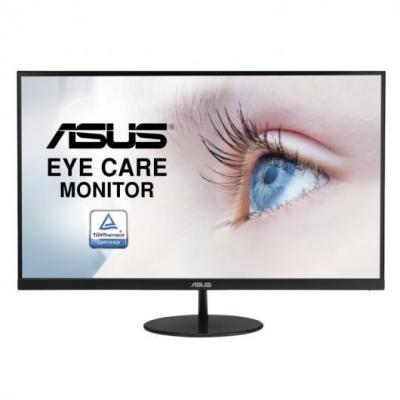 "Asus Monitor 27"" LED IPS Full HD 1080p 75Hz FreeSync - Diseño sin Marco - Respuesta 5ms - Angulo de Vision 178° - 16:9 - HDMI, V"