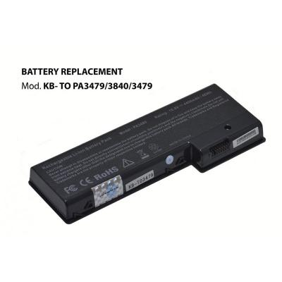 Kloner KB-TO3479/3480/PA3479 Bateria para Toshiba 10.8V 4400mAh - Imagen 1