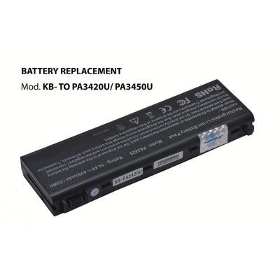 Kloner KB-TOPA3420U/PA3450U Bateria para Toshiba 14.4V 4400mAh - Imagen 1