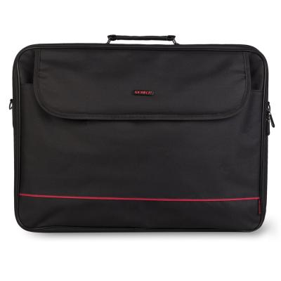 "NGS Passenger Plus Maletin para Portatil 18"" - Acolchado Interior - 2 Compartimentos y Bolsillo Exterior - Color Negro - Imagen"