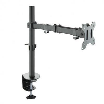 """Tooq Soporte de Mesa con Brazo Articulado para Monitor de 13""""-32"""" - Giratorio e Inclinable - Gestion de Cables - Peso Max 8kg -"""