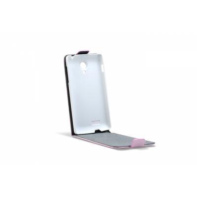 3GO Droxio B45 Funda Flip Cover Vertical Piel Rosa - Imagen 1