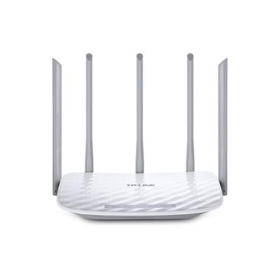 TP-LINK Archer C60 router inalámbrico Doble banda (2,4 GHz / 5 GHz) Ethernet rápido Blanco - Imagen 1