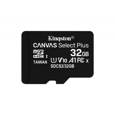 Kingston Technology Canvas Select Plus memoria flash 32 GB MicroSDHC Clase 10 UHS-I - Imagen 1