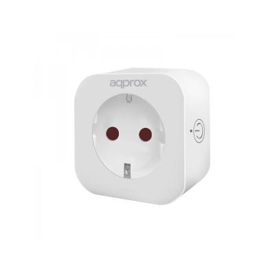 Approx Enchufe Inteligente Wifi Blanco - Imagen 1