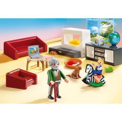 Playmobil casa de muñecas salon - Imagen 1