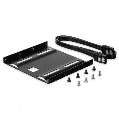 "Ewent EW7007 panel bahía disco duro 8,89 cm (3.5"") Negro - Imagen 1"
