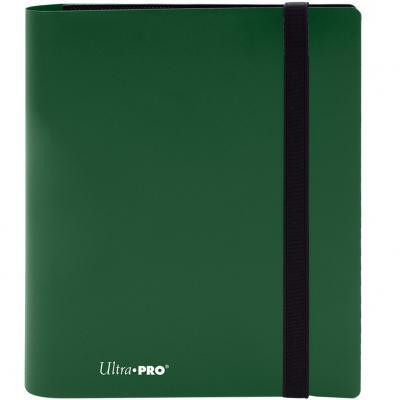 Archivador de bolsillo ultra pro color verde bosque 4 bolsillos - Imagen 1