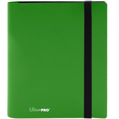 Archivador de bolsillo ultra pro color verde lima 4 bolsillos - Imagen 1