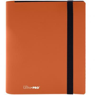 Archivador de bolsillo ultra pro color naranja calabaza 4 bolsillos - Imagen 1
