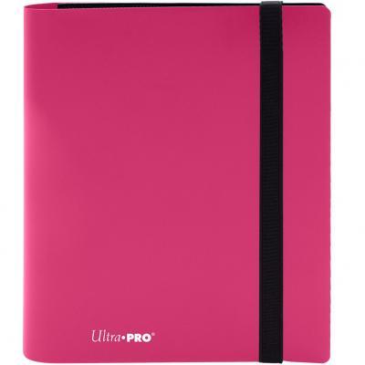 Archivador de bolsillo ultra pro color rosa calido 4 bolsillos - Imagen 1