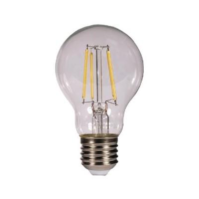 Bombilla led kodak filamento transparente esferica a60 -  e27 -  470lm -  calido 3000k -  4w=40w -  no regulable - Imagen 1
