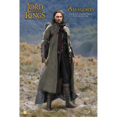 Aragorn 2.0 version especial figura 22.5 cm the lord of the rings real master se - Imagen 1