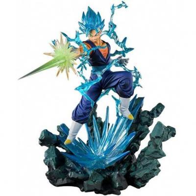 *super saiyan god super saiyan vegito eece figura 23 cm dragon ball super exclusiva 2020 - Imagen 1