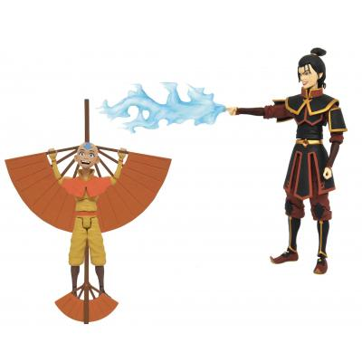 Avatar surtido 6 figuras 18 cm avatar the last airbender deluxe action figures series 2 - Imagen 1