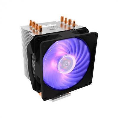Disipador coolermaster hyper h410r rgb compatibilidad multisocket - Imagen 1