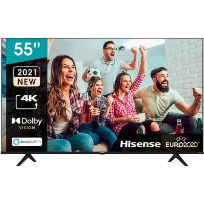 Tv hisense 55pulgadas led 4k uhd -  55a6g -  hdr10+ -  smart tv -  dolby vision -  3 hdmi -  2 usb -  dvb - t2 - t - c - s2 - s