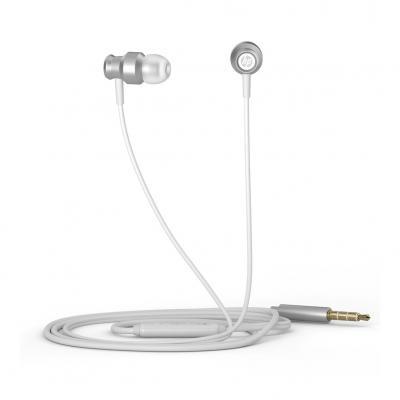 Auricular hp daewoo dhh - 3111 plata microfono jack 3.5mm - Imagen 1