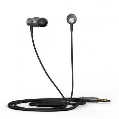 Auricular hp daewoo dhh - 3111 negro microfono jack 3.5mm - Imagen 1