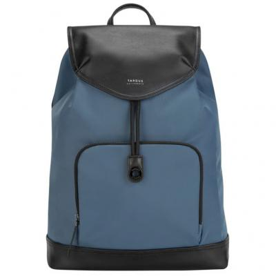 Mochila portatil targus newport cierre cordon 15pulgadas azul - Imagen 1