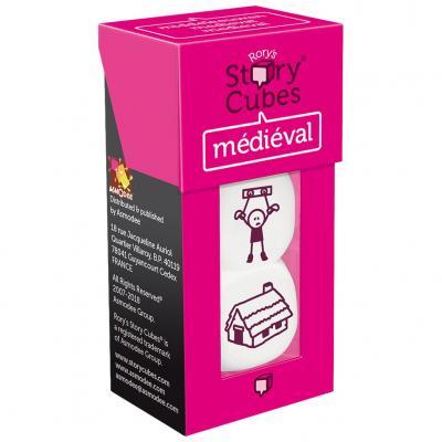 Juego de mesa story cubes medieval pegi 8 - Imagen 1