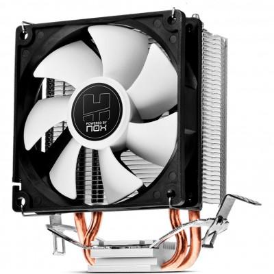 Ventilador disipador cpu nox hummer h - 190 compatibilidad multisocket - Imagen 1