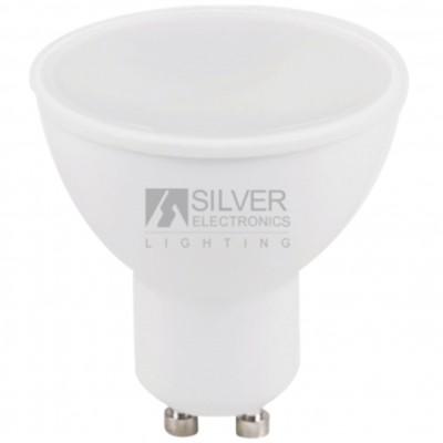 Bombilla led silver electronic eco dicroica 7w=44w -  gu10 -  3000k -  567 lm -  120º - luz calida -  a+ - Imagen 1