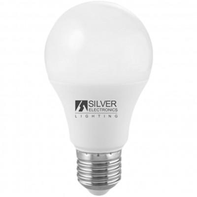Bombilla led silver electronic eco estandar 10w=57w -  e27 -  3000k -  836 lm -  220º -  luz calida -  a+ - Imagen 1
