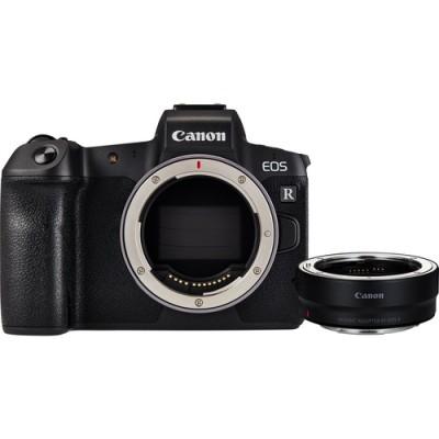 Canon EOS R + EF to RF adapter Cuerpo MILC 30,3 MP CMOS 6720 x 4480 Pixeles Negro - Imagen 1