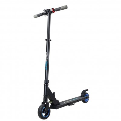Patinete scooter hoverboard electrico skateflash s1 negro rueda delantera 6pulgadas rueda trasera 5.5pulgadas bateria 4a 23km -