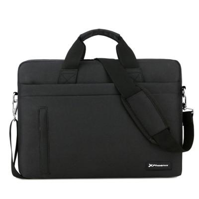 Maletin phoenix delhi para portatiles hasta 17pulgadas - 3 bolsillos - 5 compartimentos - correa bandolera - material de nylon -