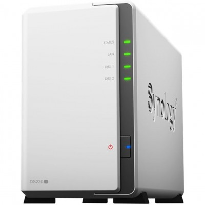 Servidor nas synology disk station ds220j 512 mb ethernet gigabit - Imagen 1