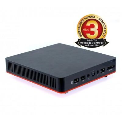 Ordenador phoenix compact intel celeron 4gb ddr3 240 gb ssd wifi usb vesa 100x100 - Imagen 1