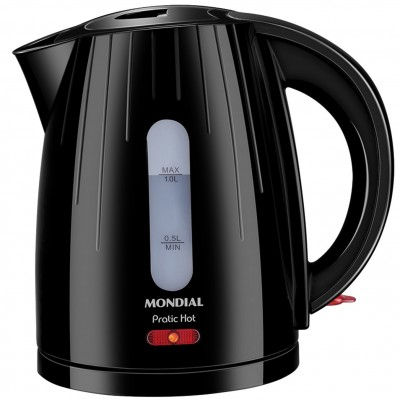 Hervidora de agua mondial practic hot kettle ce07 1200w 1l - Imagen 1