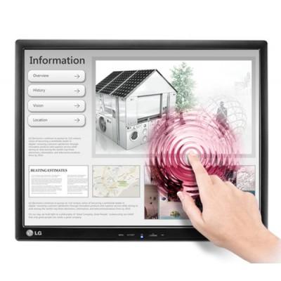 """LG 17MB15T-B monitor pantalla táctil 43,2 cm (17"""") 1280 x 1024 Pixeles Negro Single-touch Multi-usuario - Imagen 1"""