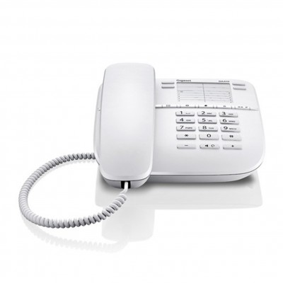 Telefono fijo gigaset da410 blanco 10 tonos - Imagen 1