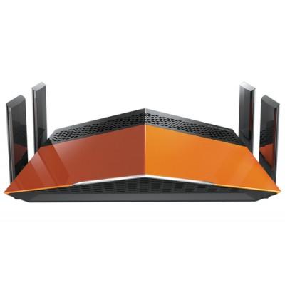 D-Link AC1900 EXO router inalámbrico Doble banda (2,4 GHz / 5 GHz) Gigabit Ethernet Negro, Naranja - Imagen 1