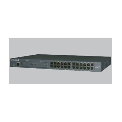 Switch 24 ptos ovislink l3 10 - 100 tx +2 slto para modulo gigabit - Imagen 1