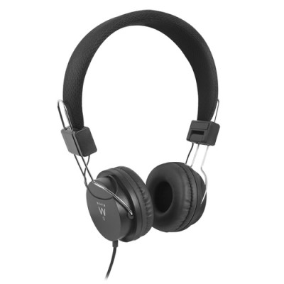 Ewent EW3573 auricular y casco Auriculares Diadema Negro - Imagen 1