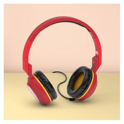 SilverHT Auricular + micrófono (diadema) - Iron Man - Imagen 1