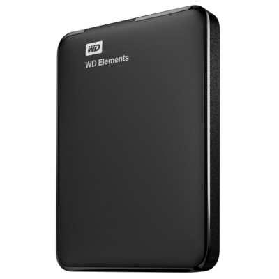 Disco duro externo hdd wd western digital 1.5tb elements 2.5pulgadas usb 3.0 negro - Imagen 1