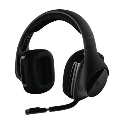 Auriculares con microfono logitech headset g533 wireless inalambrico estereo - Imagen 1